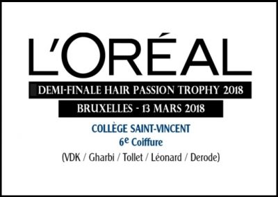 L'ORÉAL HAIR PASSION TROPHY 2018